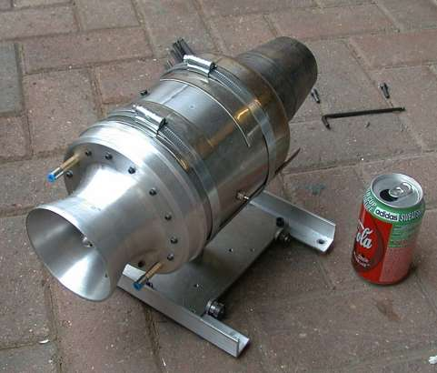 how to build a model jet engine